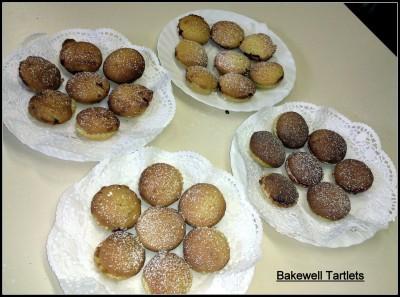 Bakewell tartlets