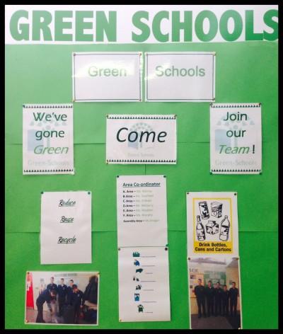 Green School Poster