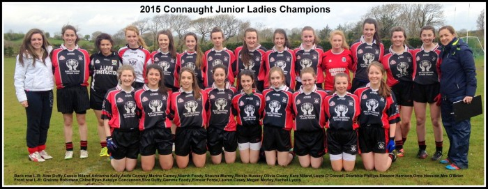 Web Junior Girls Gaelic Squad