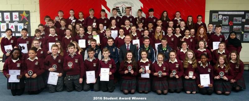 1st & 2nd Year Student Award Winners
