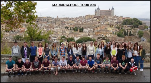 Madrid School Tour 2015