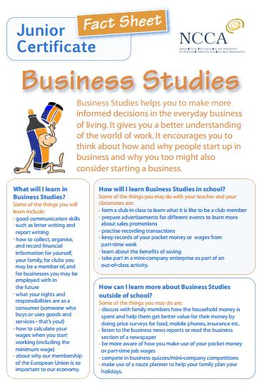 Ballyhaunis Community School Business