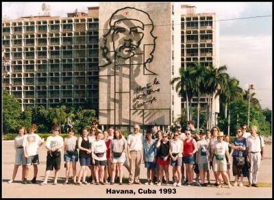 Cuba School Tour 1993