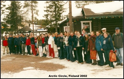 Finland School Tour 2002