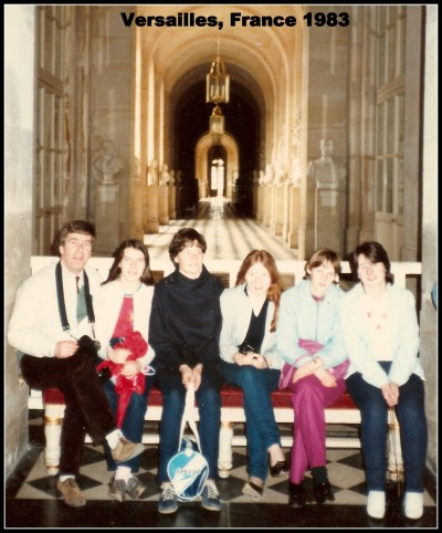 France School Tour 1983