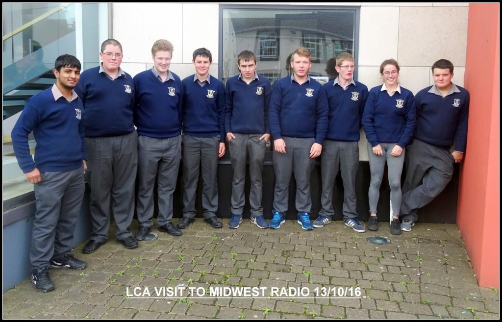 LCA2 visit to Midwest Radio