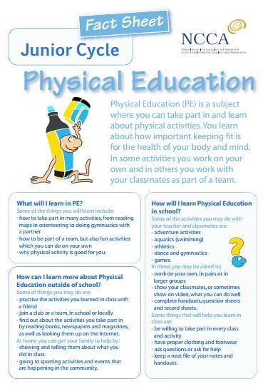 Physical Education Class in Ballyhaunis Community School