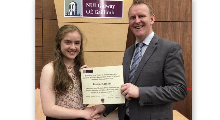 Roisin Cassidy – NUIG Scholarship