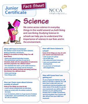 Science, Ballyhaunis Community School