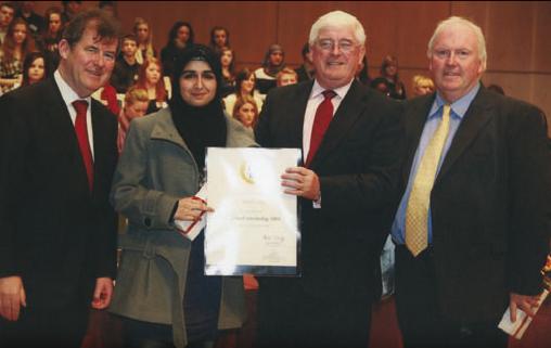Marukh Azhar 2009 All-Ireland Scholarship Winner