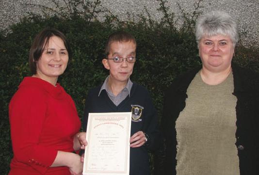 Shane Cleary, LCA Special Merit Award Winner