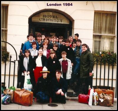 London School tour 1984