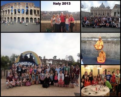Italy School Tour 2013