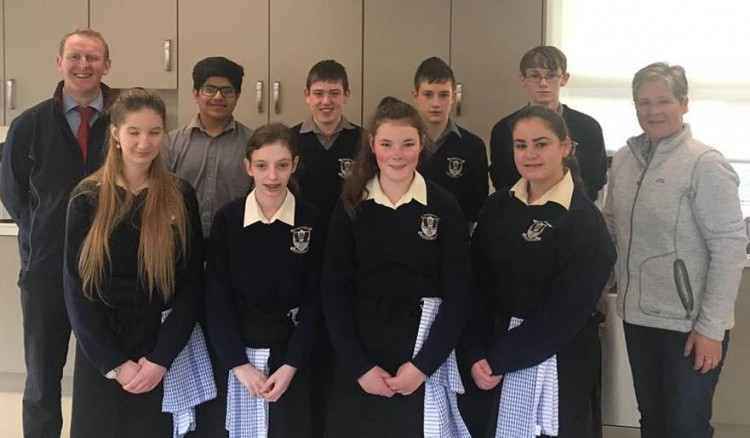 ell done to Ms Flynn and her LCA students who raised €240 for Mayo/Roscommon Hospice through their coffee & cake morning .